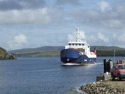 Ferry from Yell to Fetlar